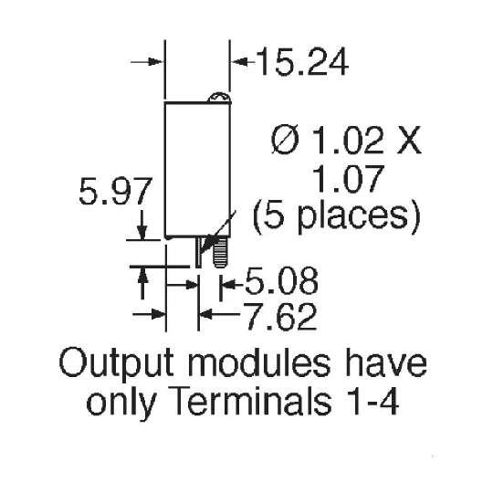 主动元件 固态继电器 70-idc24 70-idc24 图形档   70-idc24 grayhill