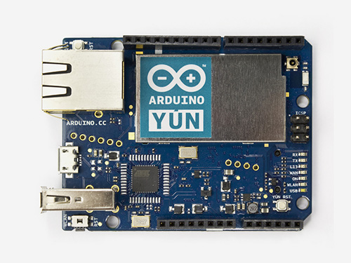 Arduino Yun with PoE