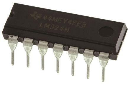 lm324n图档 - texas instruments 运算放大器图形档