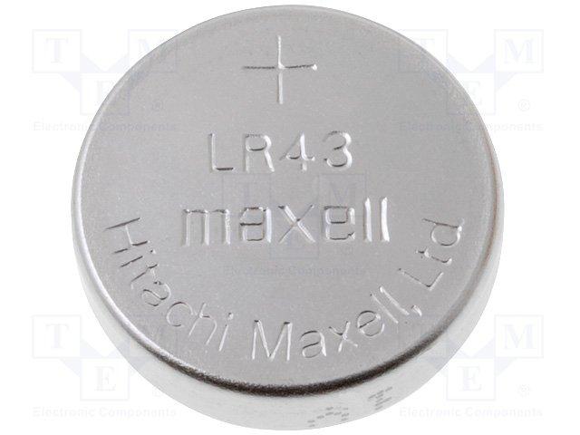LR43 MAXELL