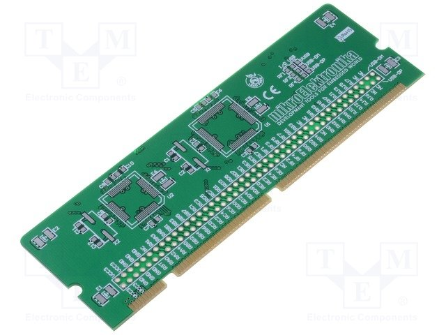 LV18F V6 64-80-PIN TQFP MCU CARD EMPTY