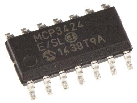 MCP3424-E/SL